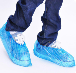 Boots Shoe Cover Fabric Disposable Overshoe Indoor Carpet Floor Blue Shoe Cover Disposable Overshoe Rain Cover JXW606