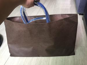Più nuovo progettista Madre pacchetto ad alta capacità di Totes Shopping Bag borsa marca famosa Pu 2pcs pelle / set 46 centimetri e 55 centimetri