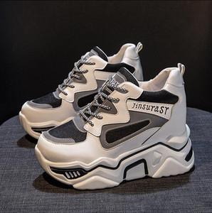 Lüks Tasarımcı ayakkabı koşu Kadınlar Günlük Ayakkabılar Platform ayakkabı Kız mujer hip hop Sokak dansı ayakkabı Yarım bot zapatos mujer TACON
