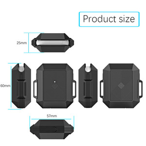 Applicable Airpods protective shell earphone case Apple silicone anti-drop Bluetooth earphone case