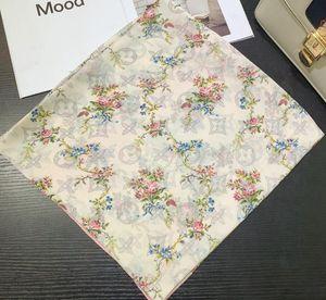 Designer Silk Scarf Hot Sale Women Luxury Spring Winter Shawl Scarf Brand Scarves Size about 180x90cm