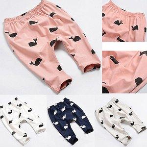 Bébé Sarouel Pantalon Dessin Animé Cerf Imprimé Garçons Filles Pantalons Tout-Petits Enfants Pantalons Vêtements Nouveau