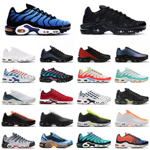 Nike Air Max Tn Plus SE Männer Frauen Laufschuhe Triple Black White Throwback Future Herren des Chaussures Trainer Zapato Sports Sneakers