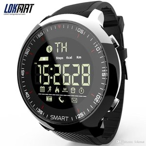 LOKMAT Smart Watch Sport Waterproof pedometers Message Reminder Bluetooth Outdoor swimming men smartwatch for ios Android phone Smart wear