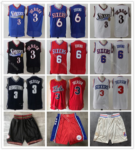 2020 Mens Throwback Jersey Allen Iverson 3 Giulio