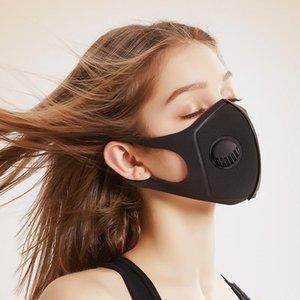 Metal Yüz Vana Ve Sünger Yastık Katlanabilir Ağız Maskesi Erkekler Kadınlar Q 9 Q 9BA E1 Of Yumuşak Nefes KNQ 95 yüz maskesiyle birlikte Industrial Maske