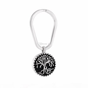Tree of Life Animal Pet Puppy Palm Paw Mark Print Urn For Ashes Stainless Steel Cremation Jewelry Key Rings Memorial Jewelry Hot Sale