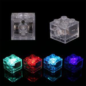 LED DIY Building Blcok LED Light Up красочные Duplo огни для Legoinglys Block светоизлучающие игрушки для детей