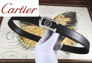 Cintos Belt Authentic Men Oficial Belt Mulheres de aço inoxidável duplo C abrasivo Pingente Últimas dos homens com caixa