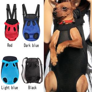 Dog Carrier Pet Backpack Mesh Camouflage Produit de Voyage En Plein Air Produit Respirant Poignée D'épaule Avant Sac pour Petit Chien Chat Chihuahua