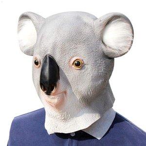 Maschera di Halloween Serie di animali Koala capo per Costume Party
