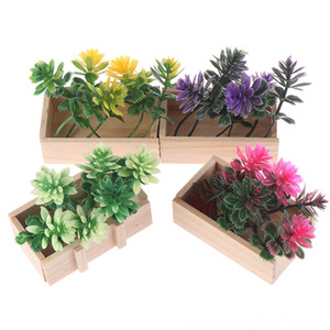 16 Houses Miniature Potted Plant Flowers Pot Doll House Decor Furniture Doll House Accessories Dolls & Accessories Fairy Garden Ornament DIY