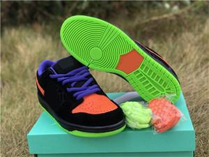 Neue Ankunfts-SB Dunk Low Night of Mischief Halloween TRICK Männer Frauen Freizeitschuhe Trainer Trick Or Treat Mode Schuhe