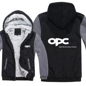 OPEL MOTORSPORT Sweats À Capuche Pour Hommes Zipper OPC PERFORMANCE CENTER Manteau En Molleton Épais Homme Homme OPC Sweat Pull