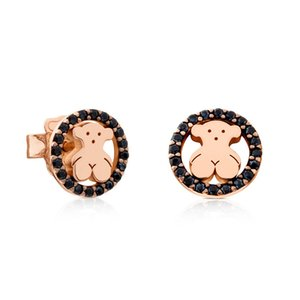 ZOUDKY 100% 925 Sterlingsilber nettes Spanien Bären-Ohrring 712.163.630 Fashion Einfache Frauen Original-Schmuck-Geburtstags-Geschenk