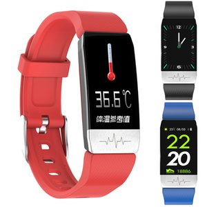 VK-T1 quality assured factory new arrival Smartwatch with Temperature measurement Wrist Watch Bluetooth Smart sports Movement bracelet