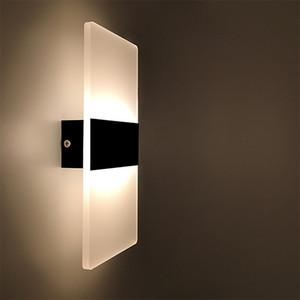 Светодиодный настенный светильник Спальня прикроватный свет Гостиная Балкон Aisle Настенный светильник Настенный светильник Коридор Лампа