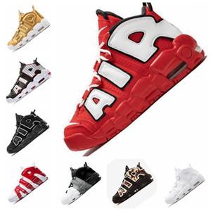 2020 Tasarımcı Daha Uptempo QS Erkek Basketbol Ayakkabı 3M Uptempo Chicago Scottie Pippen Spor Sneakers sepetleri Eğitmenler des kapalı CHAUSSURES