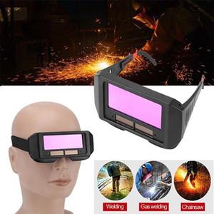 Solar Auto Escurecimento Capacete De Soldagem Olhos Protetor Soldador Cap Óculos Máquina Cortador Máscara de Solda Máscara Ferramentas de Lente de Filtro