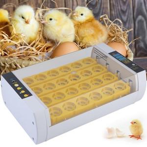 24X Automatische Chicken Egg Incubator Temperaturregelung Schlüpfen Ausrüstung