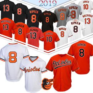 8 Cal Ripken Jr beyzbol Jersey Oriol 13 Manny Machado 12 Roberto Alomar 150. beyzbol Jersey