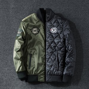 Cotton-padded Clothes Male 2019 Will Code 240 Jin Can Clothes Baseball Serve Trend Cotton-padded Jacket Handsome Flight Jacket Male