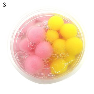 60ml DIY arts crafts school projects Crystal Slime Clay Mud Ball Sludge Plasticine Kids Stress Relief Toys