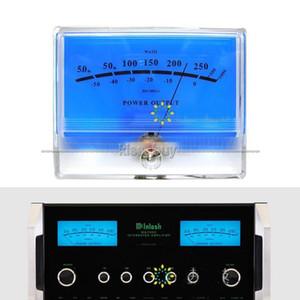 FREESHIPPING 1PCS س VU متر DB مستوى رأس قوة الصوت مكبر للصوت المؤشر متر DB الجدول الأزرق