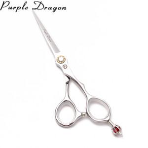 6-Zoll-17.5cm 440C Feuerdrache Red Diamond Friseurscheren Scheren zum Schneiden Regular Scheren Professional Hair Scissor