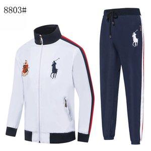 Франция бренд дизайнер Мужские костюмы survetement налить случайные куртка Homme осень зима мужская спортивная куртка молнии джемпер свитер мужской