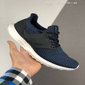 New ultra shoes UB 3.0 triple black and white primeknit blue CNY Oreo men's and women's running shoes ultra 4.0 Sneakers Size 36-45
