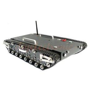 DIY Monte WT-500S metal lagartas Remote Control Tank Car Robot Esteira Caterpillar Com Smart Chassis de Engenharia Robot
