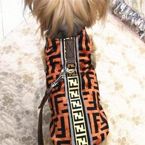 2020 F reproducidos Animales chaquetas de los All Seasons Pet Brand chalecos con correas de personalidad de sistemas del diseño de moda admiten Apparel