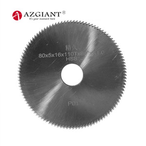 110T 80 * 5 * 16mm P01 HSS Fresa angular de 84 grados para cuchillas SILCA BRAVO duplicadoras de llaves
