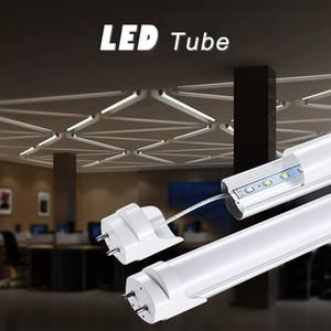AU Stock T8 LED tube light bulbs 3ft 90cm milky cover tube light 6000K G13 t8 tube light bulb for office
