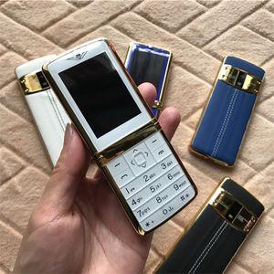 Высокое качество разблокирован супер роскошный мобильный телефон для человека двойной sim-карты мода металлический каркас из нержавеющей стали дешевые MP3 камеры сотовый телефон