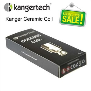 CHRISTMAS SALE Kanger Ceramic Coil Head 0.5ohm Coils for Kangertech SUBTANK mini plus TOPTANK nano NEBOX Topbox SUBVOD mage 100% Original