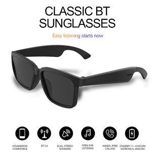Top OEM sem fio de áudio Sunglasses Bluetooth Headphones Com o Open Ear Tecnologia Faça mãos livres Bluetooth Óculos