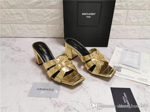 Klassisch Frauen Mules Tribute High Heel Slides, Webstoff Leder Sandalen Dame-Pumpen-Schuhe Multicolor 105 Leder Sandalen Größe 34-42