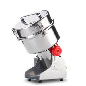 BEIJAMEI 2000g Salıncak Tipi Elektrikli Tahıllar Toz Miller Kuru Gıda Değirmeni Makinesi ev ticari Baharat Hububat Kırıcı Taşlama