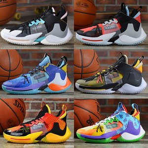 Noticias de transporte por qué no para hombre zapatillas de baloncesto para los hombres 0,2 diseñador zapatillas de deporte de Russell Westbrook II tamaño cero zer0.2 2 entrenadores 40-46