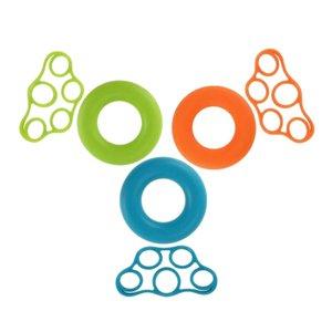 Sedye El Grip strengthener, Finger Tutma Çalışdırıcı Egzersiz 3 Direnç Seviyeleri Spor Eğitmeni Direnci