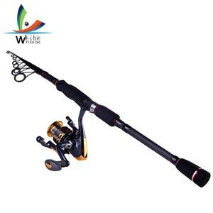 Not Include Reel Carbon Fiber Telescopic Fishing Rod 1.8M 2.1M 2.4M 2.7M 3.0M 3.6M Spinning Rod Saltwater Fishing Travel Rod