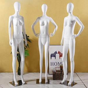 3 Style ABS en plastique femelle mannequin full body modèle présentoir de mariage robe conception vêtements Magasin dummy plate-forme 1 pc D141