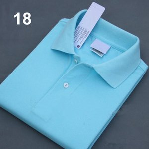 A8 en gros 21 couleurs Men Fashion Designer professionnel Polo broderie Polos T-shirts Tendance shirt Poloshirt Homme High Street Tops