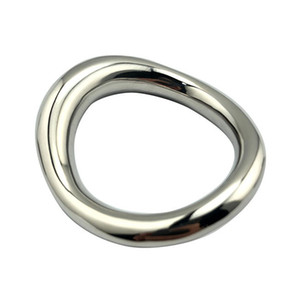 New Stainless Steel Penis Rings Ball Torture Sex Toys For Men Bondage BDSM Male Fetish Cock Rings Scrotum Ring