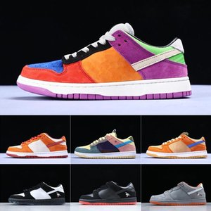 Men s Conceptos x deportes SB Dunk Low Los zapatos del diseñador de langosta diamante Su estrella de la manera únicos zapatos ocasionales de los deportes 36-45 ejecutan