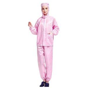 Wiederverwendbare Schutzanzug Prevent Droplets Isolation Kleidung Hazmat Anzug Wasserdicht Staubdicht Overall Schutz- und Arbeitskleidung LAGERND