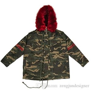 Camouflage Thick Outerwear Long Sleeve Hooded Fashion Style Homme Clothing Couple Warm Style Casual Apparel Mens Winter Designer