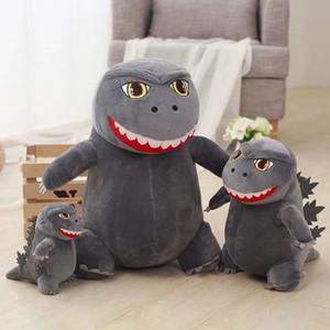 8 polegadas Dinosaur Godzilla Plush Toy bonito dos desenhos animados monstro pequeno Bichos de pelúcia Dolls 2019 Novo para Crianças dom C6288-1